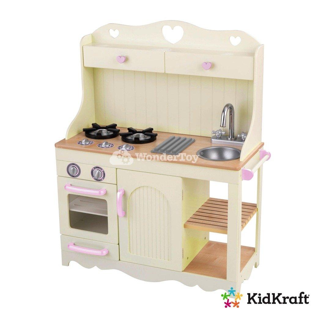 Kuchnia dla dzieci KidKraft Prairie Kitchen 53151   -> Kuchnia Hiszpanska Dla Dzieci