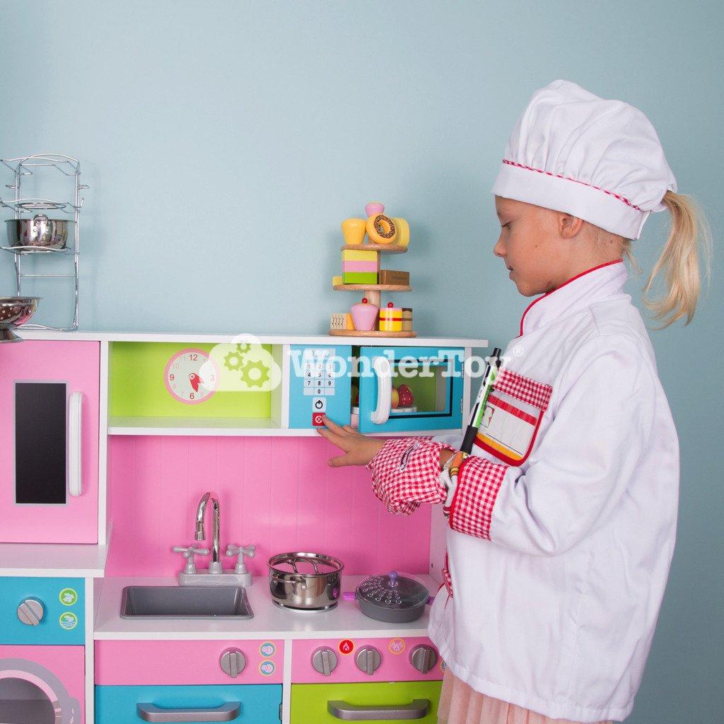 Drewniana Luksusowa Kuchnia Dla Dzieci Stella WTK2004  Zabawki  Kuchnie dla   -> Kuchnia Drewniana Dla Dzieci Zabawki