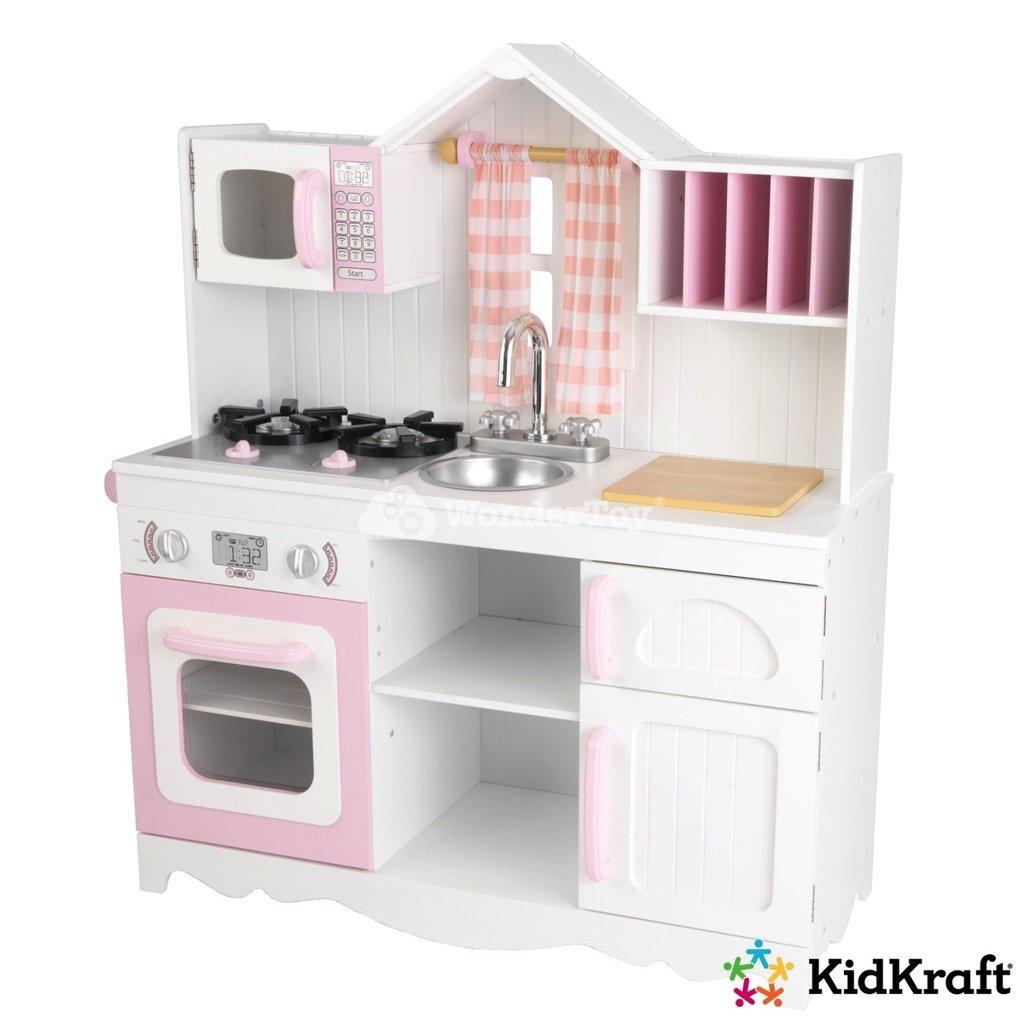 Kuchnia dla dzieci KidKraft Modern Countr 53222  Zabawki   -> Kuchnia Hiszpanska Dla Dzieci