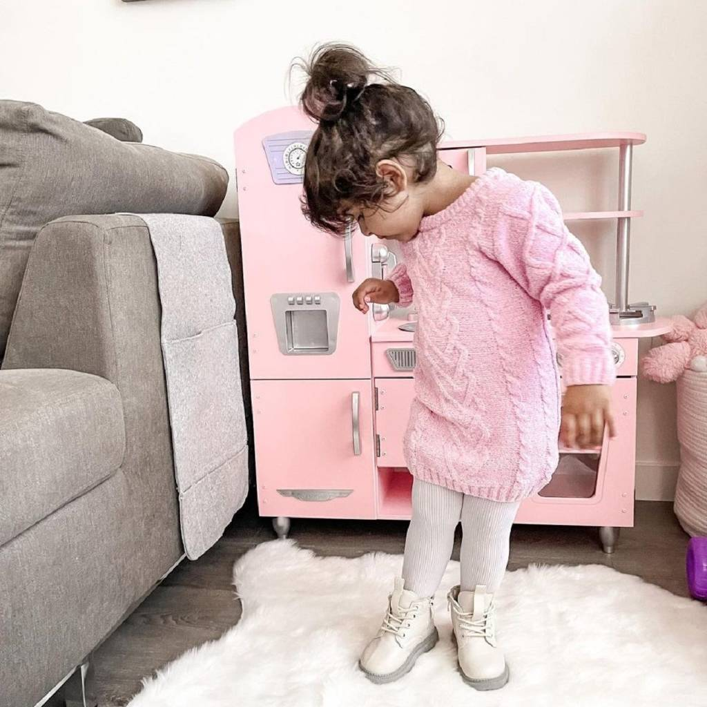 Kuchnia dla dzieci KidKraft Pink Vintage 53179  Zabawki   -> Kuchnia Hiszpanska Dla Dzieci