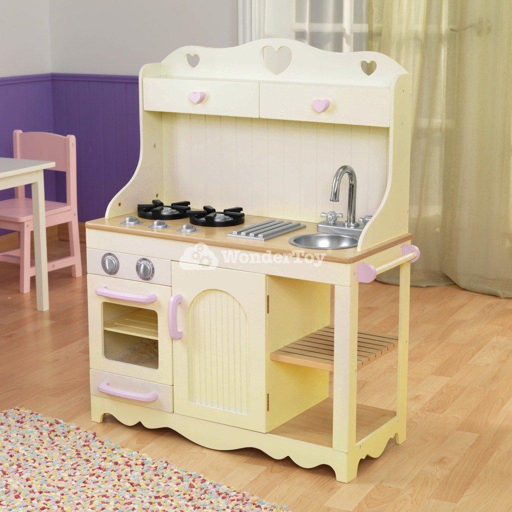 Kuchnia dla dzieci KidKraft Prairie Kitchen 53151  Zabawki  Kuchnie dla dzieci -> Kuchnia Drewniana Dla Dzieci Zabawki