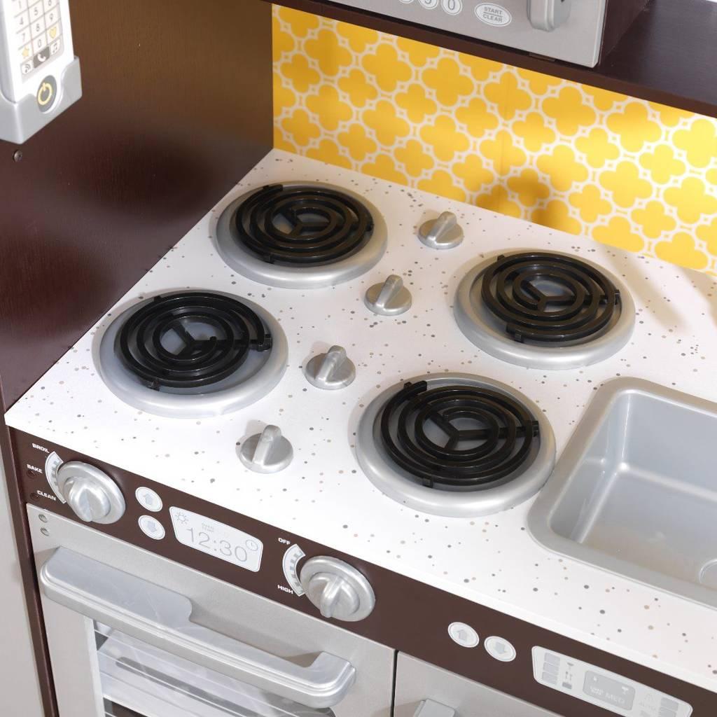 Kuchnia dla dzieci KidKraft Wielka Kuchnia Espresso 53260  Zabawki  Kuchnie   # Kuchnia Drewniana Dla Dzieci Zabawki