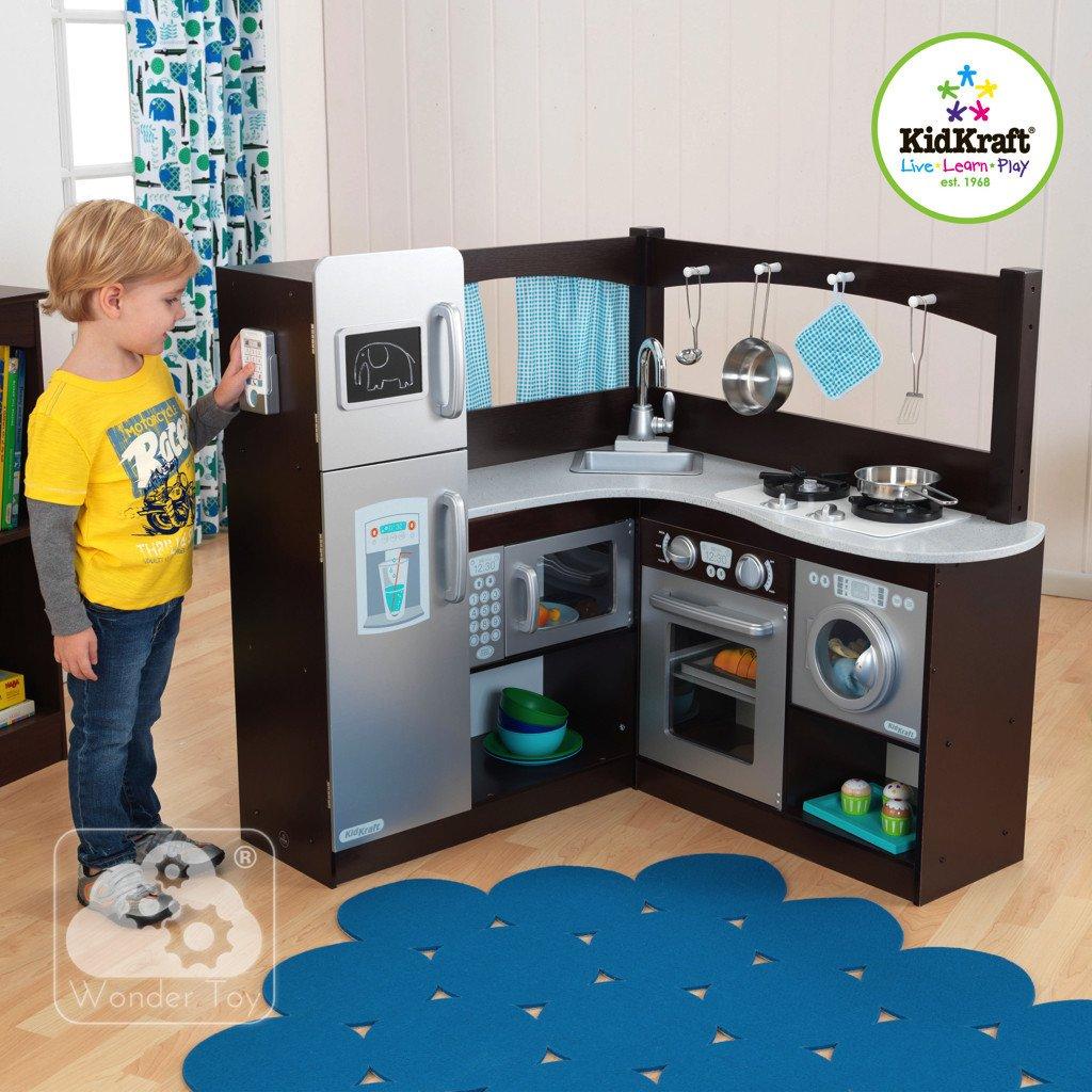 Kuchnia dla dzieci KidKraft Wielka Narożna Kuchnia   -> Kuchnia Dla Dzieci Najtaniej