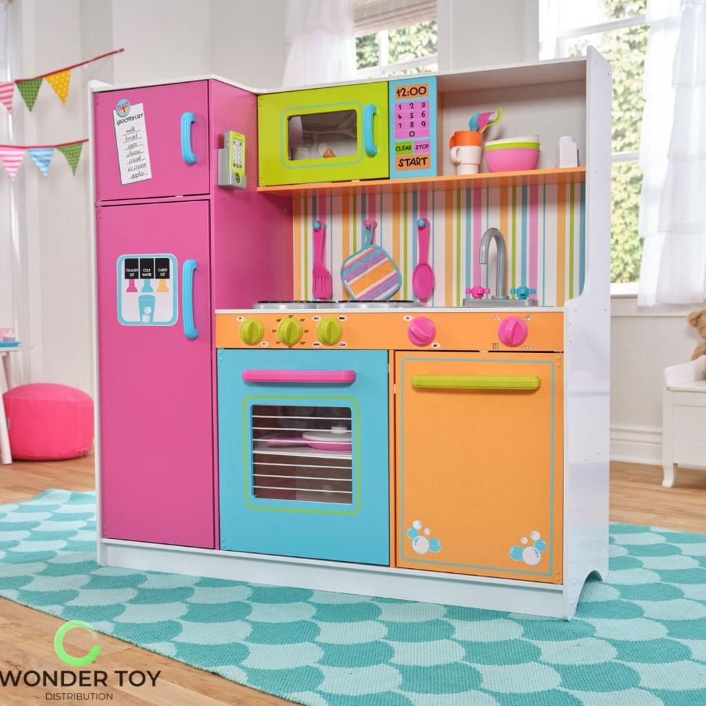 Kuchnia dla dzieci KidKraft Wielka Tęczowa Kuchnia 53100  Zabawki  Kuchnie   -> Kuchnia Dla Dzieci Gra Za Darmo