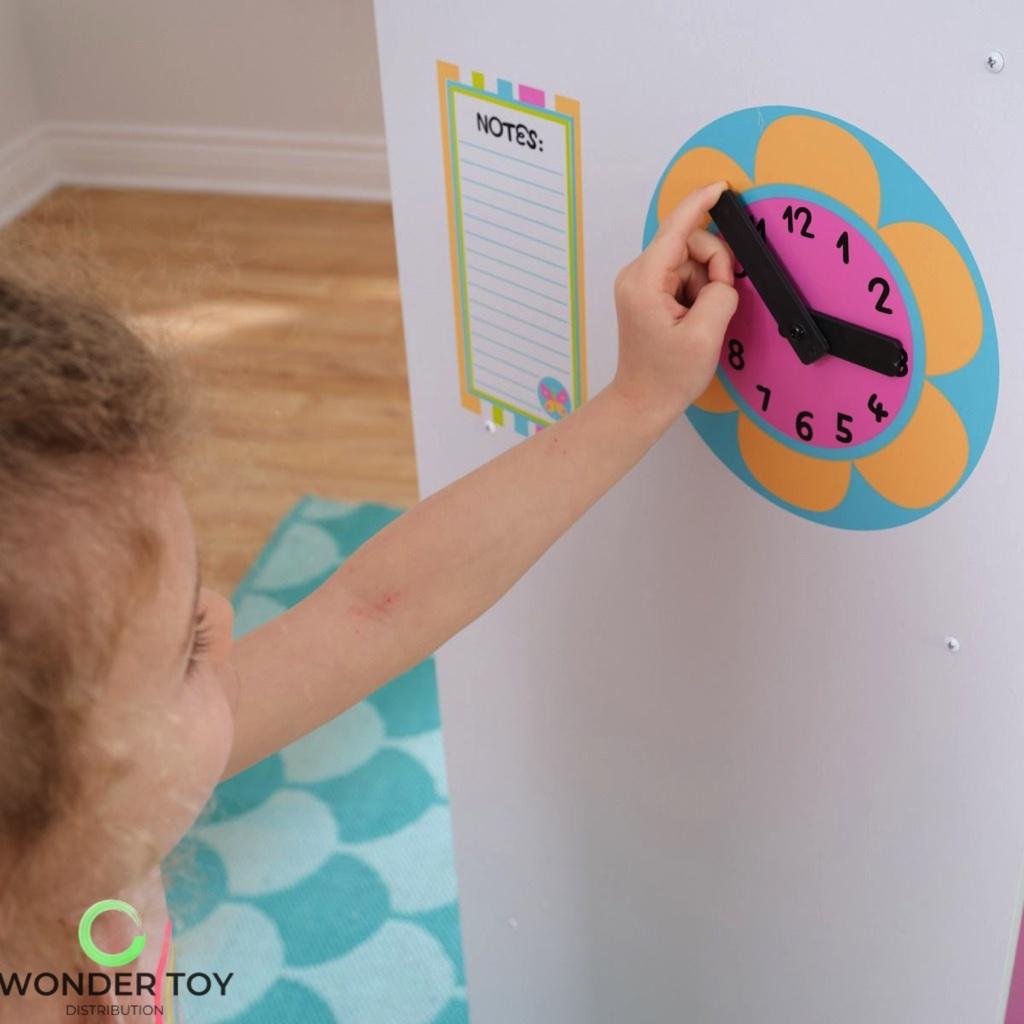 Kuchnia dla dzieci KidKraft Wielka Tęczowa Kuchnia 53100  Zabawki  Kuchnie   -> Kuchnia Drewniana Dla Dzieci Kidkraft