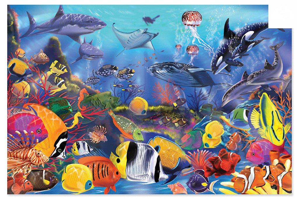 Puzzle Podłogowe Podwodne Życie Melissa And Doug 10427