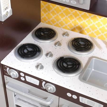Kuchnia dla dzieci kidkraft wielka kuchnia espresso 53260 for Kitchen set in amazon