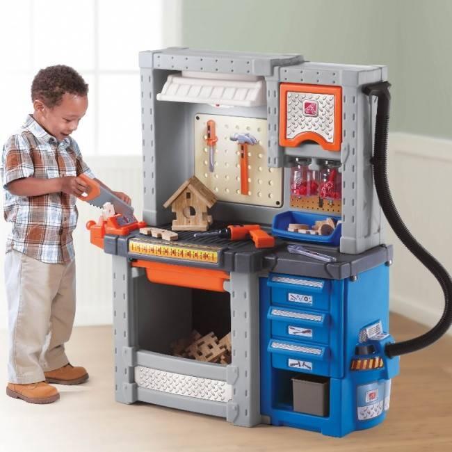 zabawki interaktywne - warsztat do zabawy dla chłopca step2 wonder toy