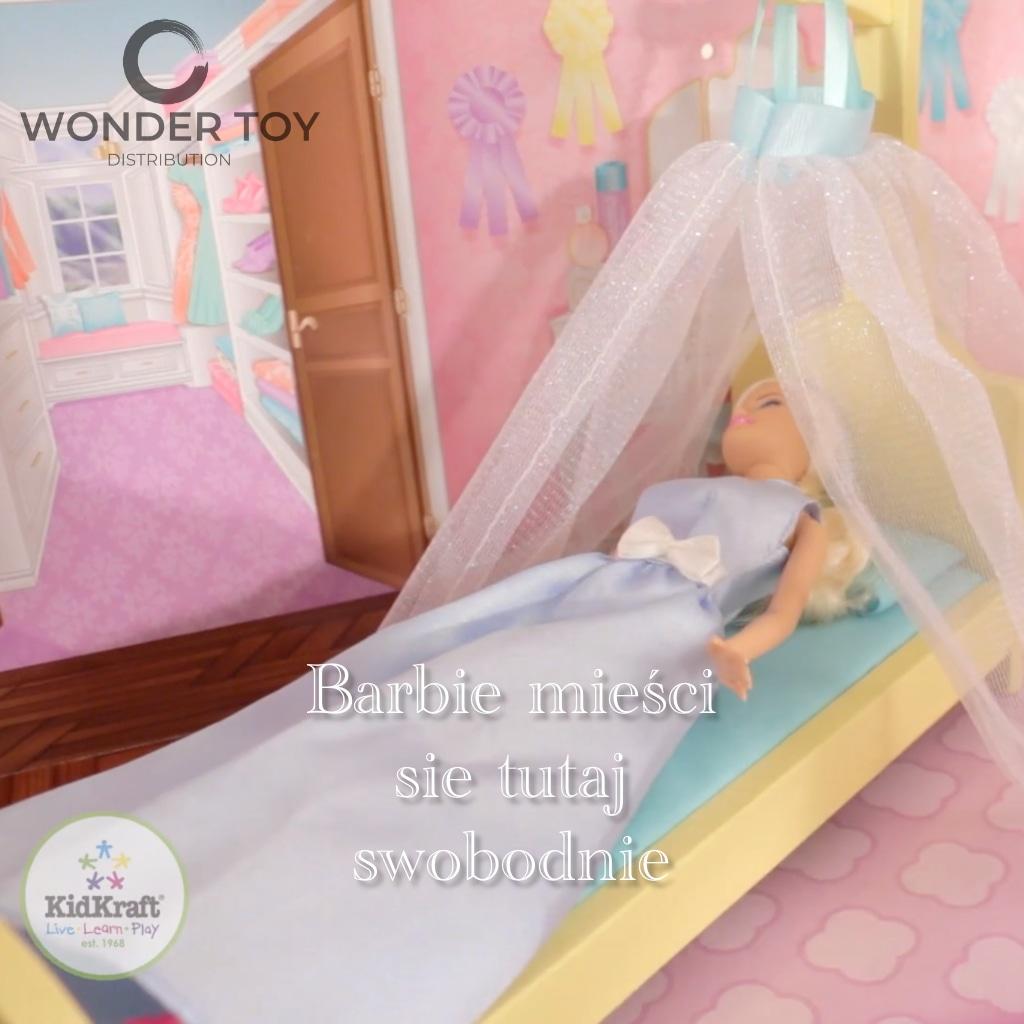 domek do lalek barbie - domek dla lalek kidkraft