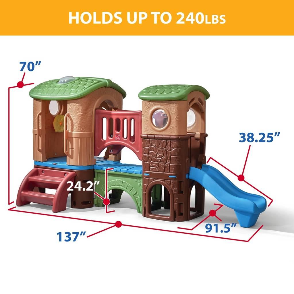 plac zabaw dla dzieci step2 od wondertoy