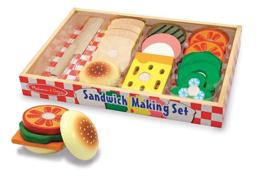 Drewniana Kanapka Jedzenie Melissa And Doug 10513 Zabawki