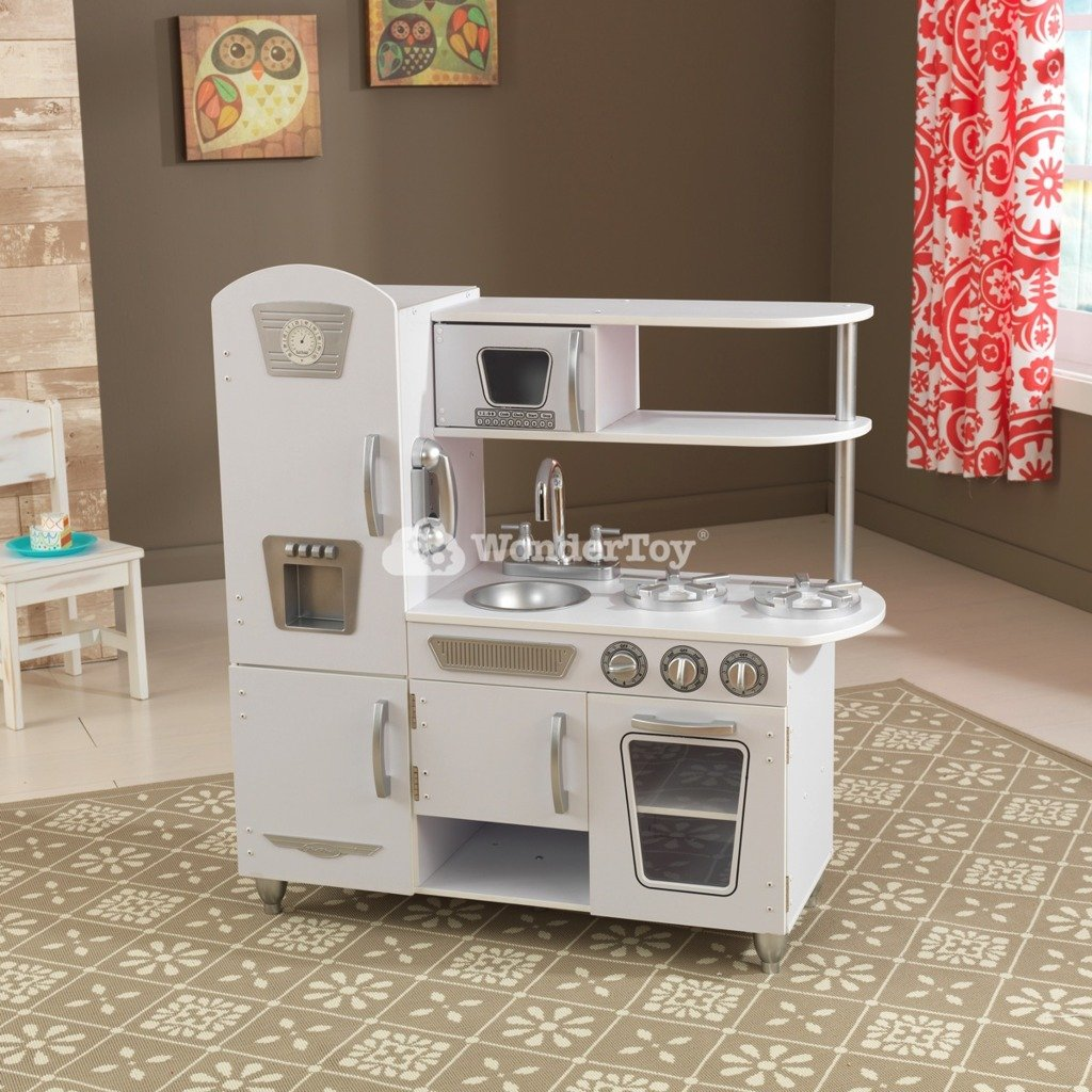kuchnia dla dzieci kidkraft white vintage 53402 zabawki kuchnie dla dzieci. Black Bedroom Furniture Sets. Home Design Ideas