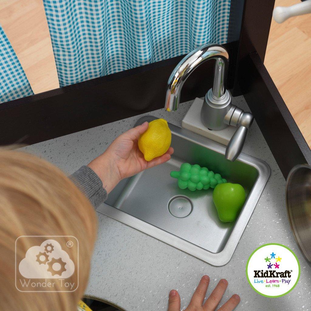 Kuchnia Dla Dzieci Kidkraft Wielka Narozna Kuchnia Espresso 53302