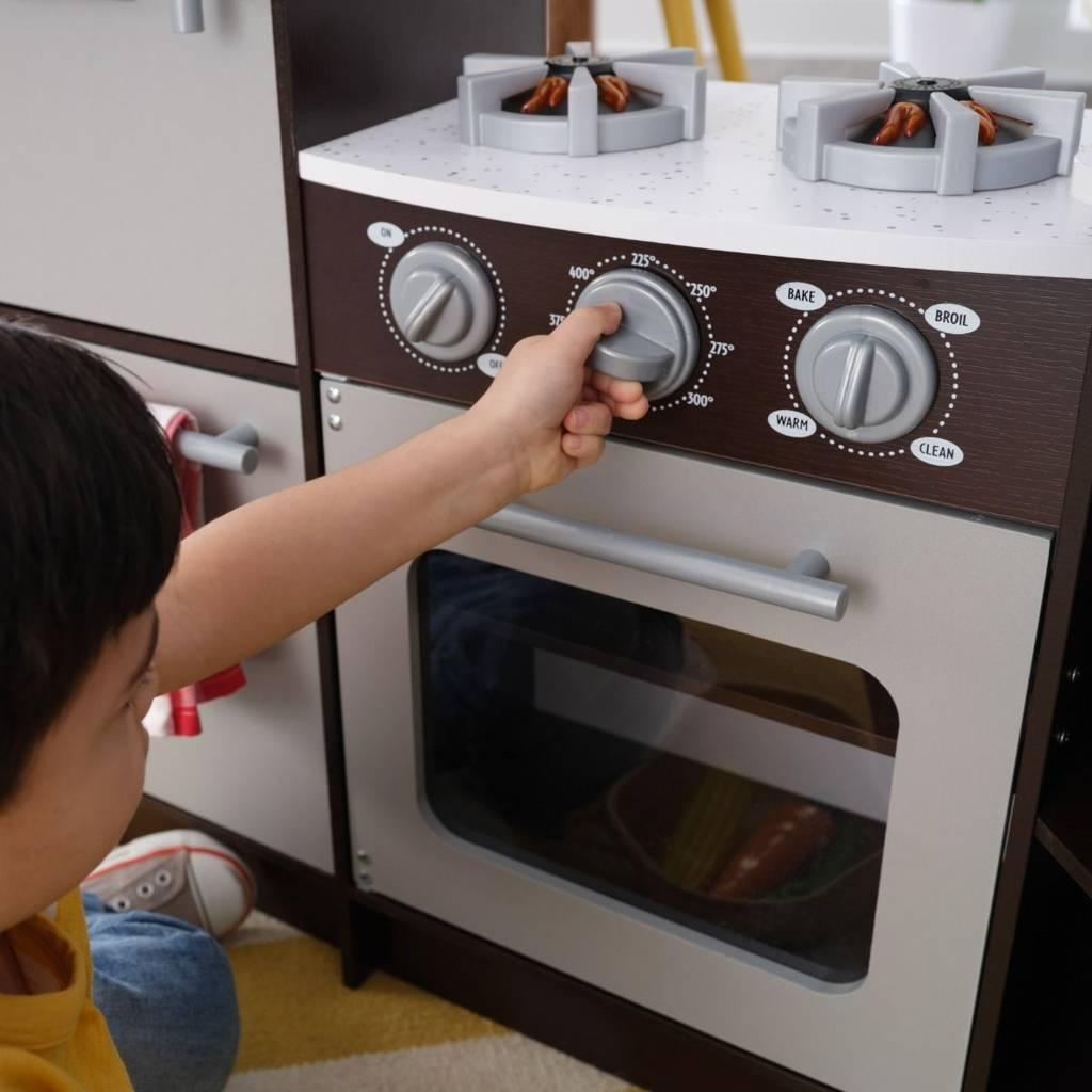 Ultimate Narozna Kuchnia Kidkraft Espresso Swiatlo I Dzwiek