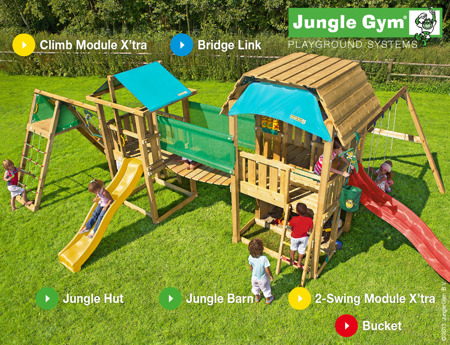 Mega Plac Zabaw  Long John Jungle Gym