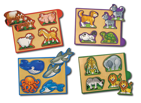 Mini Puzzle Zwierzęta  Melissa and Doug 14790