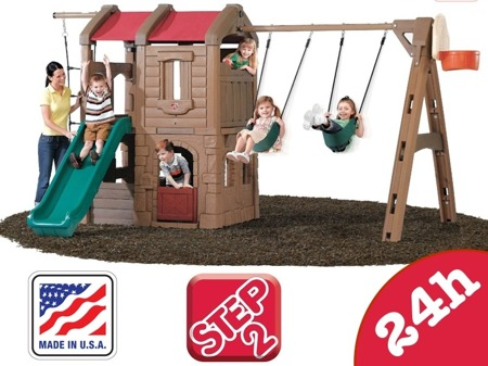 Plac Zabaw XL Step 2 Naturally Playful Adventure Lodge 801300