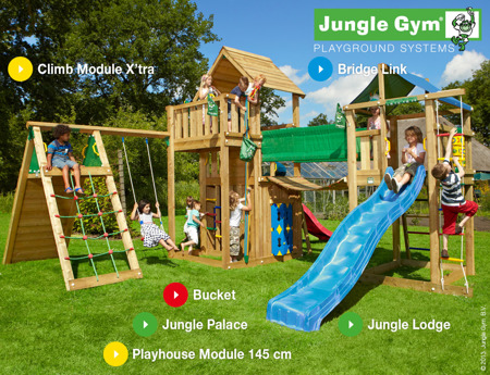 Plac zabaw Jungle Gym Big Western
