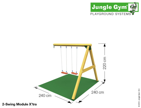 Plac zabaw Jungle Gym Fiki-Miki