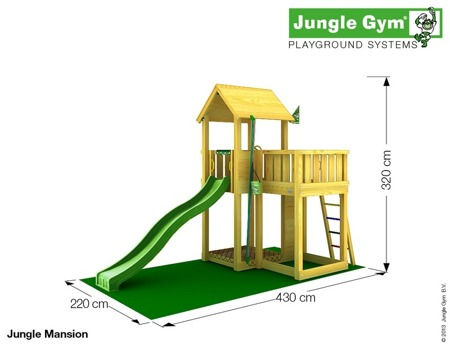 Plac zabaw Jungle Gym Lokomotywa Choo-Choo