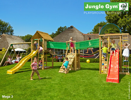 Plac zabaw Jungle Gym Mega Giant