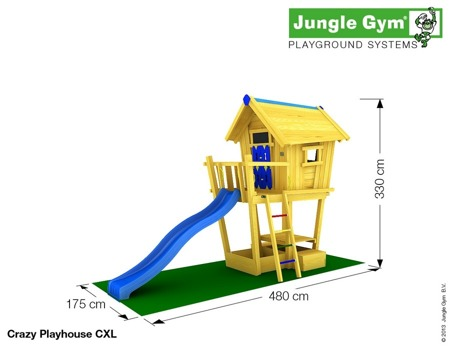 Plac zabaw Jungle Gym Smart Kid House - Domek Bystrzaka