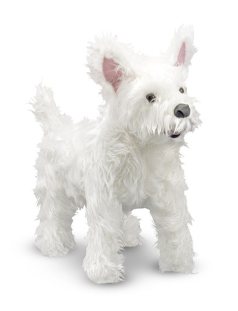 Pluszak Pies West Highland Terrier Melissa and Doug 14872