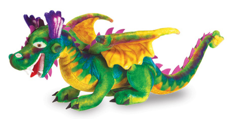 Wielki Pluszak Smok Dragon  Melissa and Doug 12121